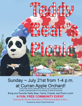 TEDDY BEARS PICNIC 2019 POSTCARD version ONE